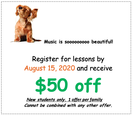 $50 off if you enroll before July 15,2020